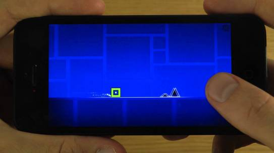 Geometry Dash for iOS devices