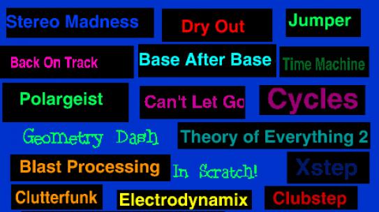 Top 5 best songs of Geometry Dash