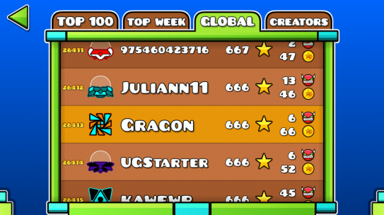 How to change your name in geometry dash