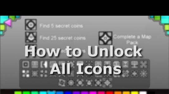How to unlock all icons